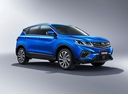 Фото авто Geely SX11 1 поколение, ракурс: 315 - рендер цвет: синий