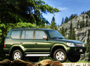 Фото авто Toyota Land Cruiser Prado J90, ракурс: 270
