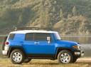 Фото авто Toyota FJ Cruiser 1 поколение, ракурс: 270 цвет: синий