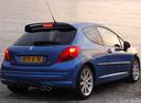 Фото авто Peugeot 207 1 поколение, ракурс: 225 цвет: синий