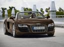 Фото авто Audi R8 1 поколение, ракурс: 315 цвет: коричневый