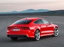 Фото авто Audi RS 7 4G [рестайлинг], ракурс: 225 цвет: красный