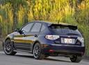 Фото авто Subaru Impreza 3 поколение [рестайлинг], ракурс: 135 цвет: синий