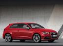 Фото авто Audi S3 8V, ракурс: 270 цвет: красный