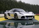 Фото авто Lotus Exige Serie 3, ракурс: 315 цвет: серебряный