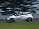 Фото авто Nissan Micra K14, ракурс: 90 цвет: серебряный