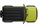 Фото авто Suzuki Jimny 4 поколение, ракурс: сверху цвет: зеленый