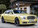 Фото авто Bentley Mulsanne 2 поколение [рестайлинг], ракурс: 315 цвет: золотой