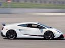 Фото авто Lamborghini Gallardo 1 поколение, ракурс: 270 цвет: белый