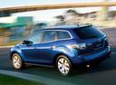 Фото авто Mazda CX-7 1 поколение, ракурс: 135 цвет: синий