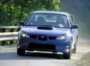 Фото авто Subaru Impreza 2 поколение [2-й рестайлинг], ракурс: 45 цвет: синий