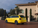 Фото авто Skoda Fabia NJ, ракурс: 135 цвет: желтый