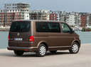 Фото авто Volkswagen Multivan T5 [рестайлинг], ракурс: 225 цвет: коричневый