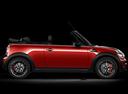 Фото авто Mini Cabrio R57 [рестайлинг], ракурс: 270 цвет: красный