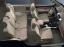 Фото авто Toyota Land Cruiser Prado J120, ракурс: салон целиком