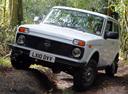 Фото авто ВАЗ (Lada) 4x4 1 поколение [2-й рестайлинг], ракурс: 45 цвет: белый