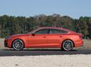 Фото авто Audi S5 2 поколение, ракурс: 90 цвет: оранжевый