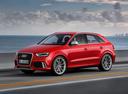 Фото авто Audi RS Q3 8U, ракурс: 45 цвет: красный