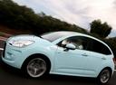 Фото авто Citroen C3 2 поколение, ракурс: 90 цвет: голубой