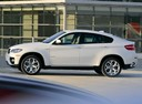 Фото авто BMW X6 E71/E72, ракурс: 90 цвет: белый