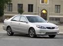 Фото авто Toyota Camry XV30 [рестайлинг], ракурс: 315 цвет: серебряный