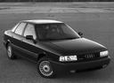 Фото авто Audi 80 8A/B3, ракурс: 315 цвет: черный
