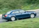 Фото авто BMW 5 серия E60/E61 [рестайлинг], ракурс: 270 цвет: синий