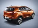 Фото авто Kia Sportage 3 поколение, ракурс: 225 цвет: оранжевый