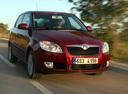 Фото авто Skoda Fabia 5J,  цвет: красный