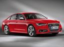 Фото авто Audi S6 C7, ракурс: 315 цвет: красный