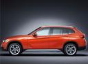Фото авто BMW X1 E84 [рестайлинг], ракурс: 90 цвет: оранжевый
