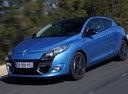 Фото авто Renault Megane 3 поколение [рестайлинг], ракурс: 45 цвет: синий