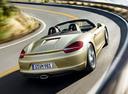 Фото авто Porsche Boxster 981, ракурс: 225 цвет: бежевый