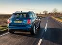 Фото авто Mini Countryman F60, ракурс: 225 цвет: синий
