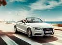 Фото авто Audi A3 8V, ракурс: 315 цвет: белый
