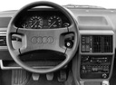 Фото авто Audi 100 С3 [рестайлинг], ракурс: торпедо