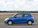 Фото авто Suzuki Swift 4 поколение, ракурс: 90 цвет: синий