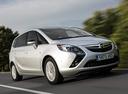 Фото авто Opel Zafira C, ракурс: 315 цвет: белый