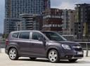 Фото авто Chevrolet Orlando 1 поколение, ракурс: 315 цвет: мокрый асфальт