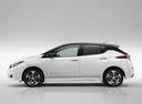 Фото авто Nissan Leaf 2 поколение, ракурс: 90 цвет: белый