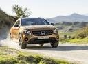 Фото авто Mercedes-Benz GLA-Класс X156 [рестайлинг],  цвет: золотой