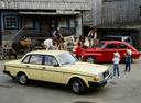 Фото авто Volvo 240 1 поколение, ракурс: 315 цвет: желтый