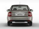 Фото авто ВАЗ (Lada) Priora 1 поколение [рестайлинг], ракурс: 180 цвет: серый