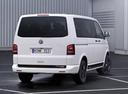 Фото авто Volkswagen Multivan T5 [рестайлинг], ракурс: 180 цвет: белый