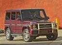 Фото авто Mercedes-Benz G-Класс W463 [2-й рестайлинг], ракурс: 315 цвет: бордовый