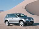 Фото авто Volkswagen Touareg 1 поколение, ракурс: 270 цвет: серый