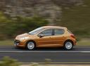 Фото авто Peugeot 207 1 поколение, ракурс: 90 цвет: бронзовый