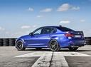 Фото авто BMW M3 F80 [рестайлинг], ракурс: 135 цвет: синий