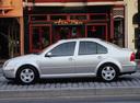 Фото авто Volkswagen Jetta 4 поколение, ракурс: 90 цвет: серебряный