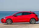 Фото авто Opel Astra K, ракурс: 90 цвет: красный